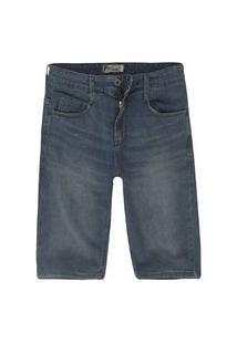 Bermuda Masculina Jeans Tradicional Stone Cl