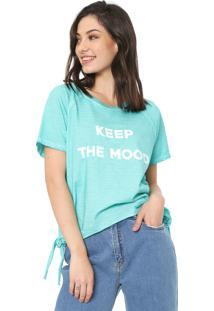 Camiseta Oh, Boy! Amarração Azul