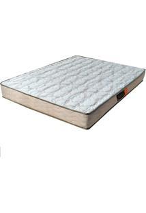 Colchão Casal Pillow Top Active - Pelmex - Branco / Bege