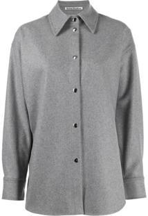 Acne Studios Oversized Jacket - Cinza