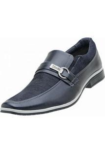 Sapato Social Venetto Lona Jeans - Masculino
