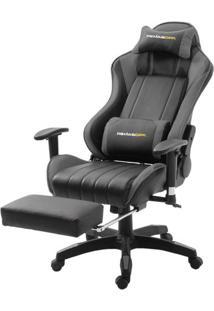Cadeira Office Xsx Em Courino Preto E Cinza - 53539 Sun House