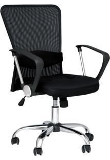 Cadeira De Escritório Diretor Barcelos Preto