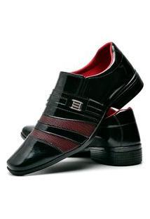 Sapato Social Masculino Asgard Db 813Lbm Vinho