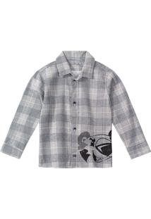 Camisa Tigor T. Tigre - 80001I Cinza - Kanui