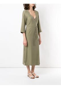 Haight Vestido Cache Coer Midi - Verde