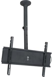 Suporte De Teto Para Tv 32 A 65 Pol Multivisão Skypro-M-Pr Preto