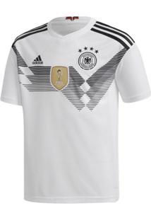 Camisa Adidas Oficial Alemanha I Infantil 2018