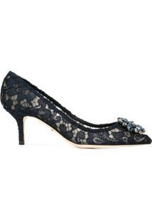 Dolce & Gabbana Scarpin 'Bellucci' De Couro - Azul
