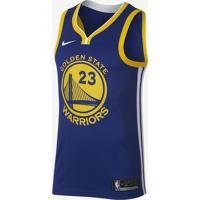 6186357674b04 Nike Store. Regata Nike Golden State Warriors Icon Edition Swingman  Masculina