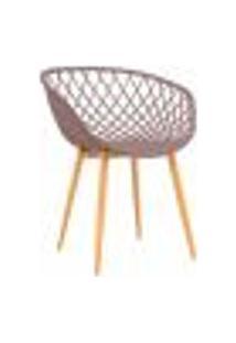 Cadeira Clarice - Camurça