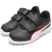 Dafiti. Tênis Puma Infantil Stepfleex Run Sl V Preto Branco 89ddb8a3ae88c