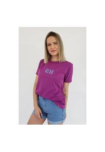 T-Shirt Aero Jeans Colors Roxa