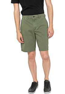 Bermuda Sarja Gap Chino Color Verde