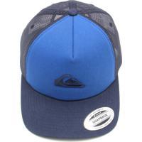 Dafiti Sports. Boné Quiksilver Trucker Logo ... aca99d65270
