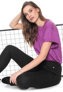 Camiseta Colcci Lisa Roxa