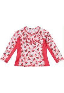 Camiseta Lilica Ripilica Vermelha