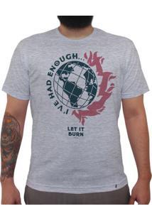 Queima Tudo - Camiseta Clássica Masculina