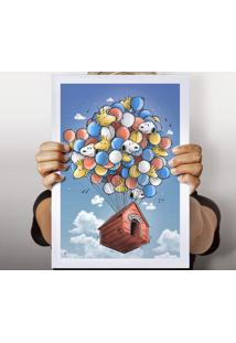 Poster Floating House