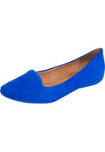 Slipper Bottero Bico Amendoado Azul
