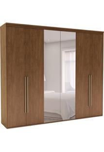 Guarda-Roupa Casal Com Espelho Originale 6 Pt 6 Gv Ébano 207 Cm