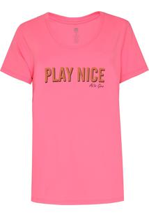 Camiseta Alto Giro Inspiracional Pink