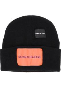 1750368dd2f74 Calvin Klein Jeans Gorro De Tricô - Preto