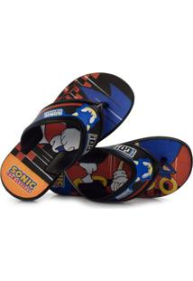Chinelo Infantil Sonic Speed
