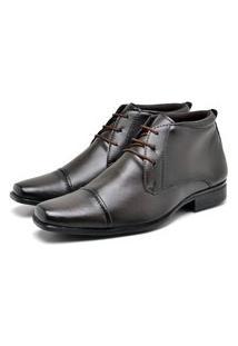 Bota Sapato Social Masculino Franca Footwear Café