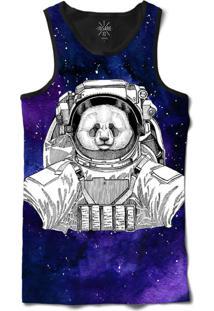 1ff9a02f7 Regata Insane 10 Animal Astronauta Urso Panda No Espaço Sublimada Cinza
