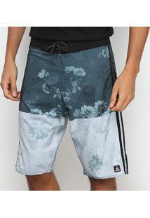 Boardshort Okdok Água Digital Floral Masculina - Masculino