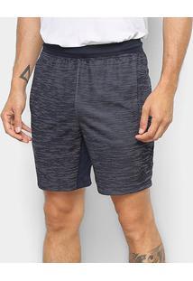 Shorts Adidas 4Kspr Z Hkn 8 Masculino - Masculino-Preto+Branco