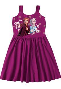 Vestido Godê Frozen® Malwee Kids