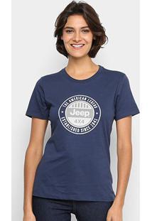 Camiseta Jeep Round Feminina - Feminino
