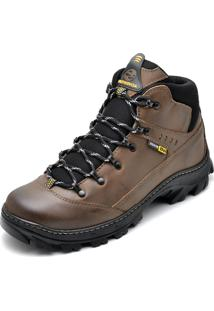 Bota Couro Dr Shoes Adventure Marrom - Marrom - Masculino - Couro LegãTimo - Dafiti