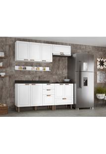Cozinha Compacta Nevada Ii 8 Pt 4 Gv Branca