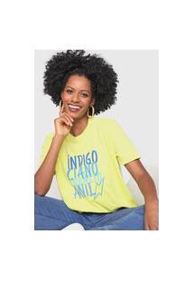 Camiseta Cantão Box Amarela