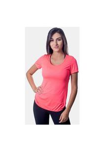 Camiseta Caju Brasil Lite Classic Pink Feminina