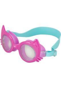 Óculos De Natação Speedo Cat - Infantil - Rosa/Azul Claro