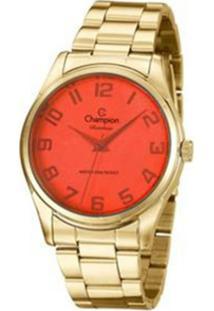 Relógio Feminino Champion Analógico Rainbow - Unissex-Dourado