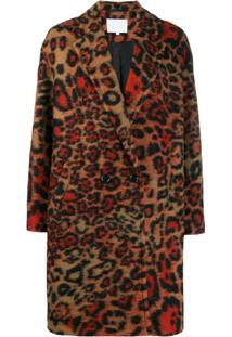 Lala Berlin Casaco Com Padronagem Animal Print - Estampado