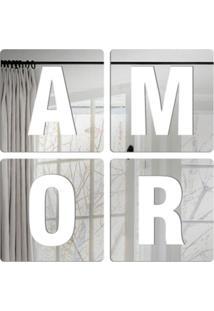 Espelho Love Decor Decorativo Amor Único - Kanui