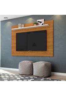 Painel Para Tv Até 60 Polegadas Lorenzo 1.6 Naturale E Off White