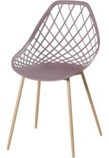 Cadeira Frank Camurca Pes Bege - 50065 Sun House