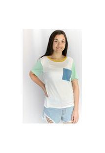 Camiseta Color Trend Multicolorido