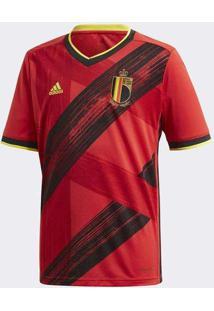 Camisa Adidas Bélgica 2019/2020 I Infantil Vermelh