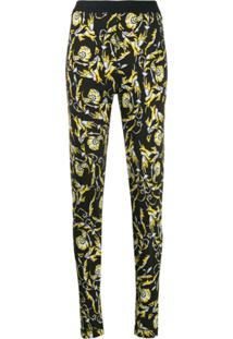Escada Sport All-Over Print Leggings - Preto