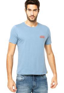 Camiseta Triton Azul