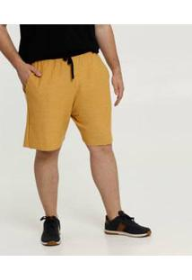 Bermuda Masculina Moletinho Plus Size