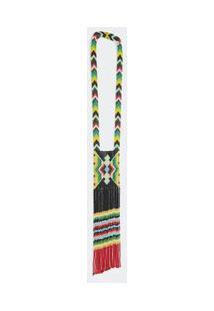 Colar Borboleta Yawanawa Tropicaleza - Multicolorido - U